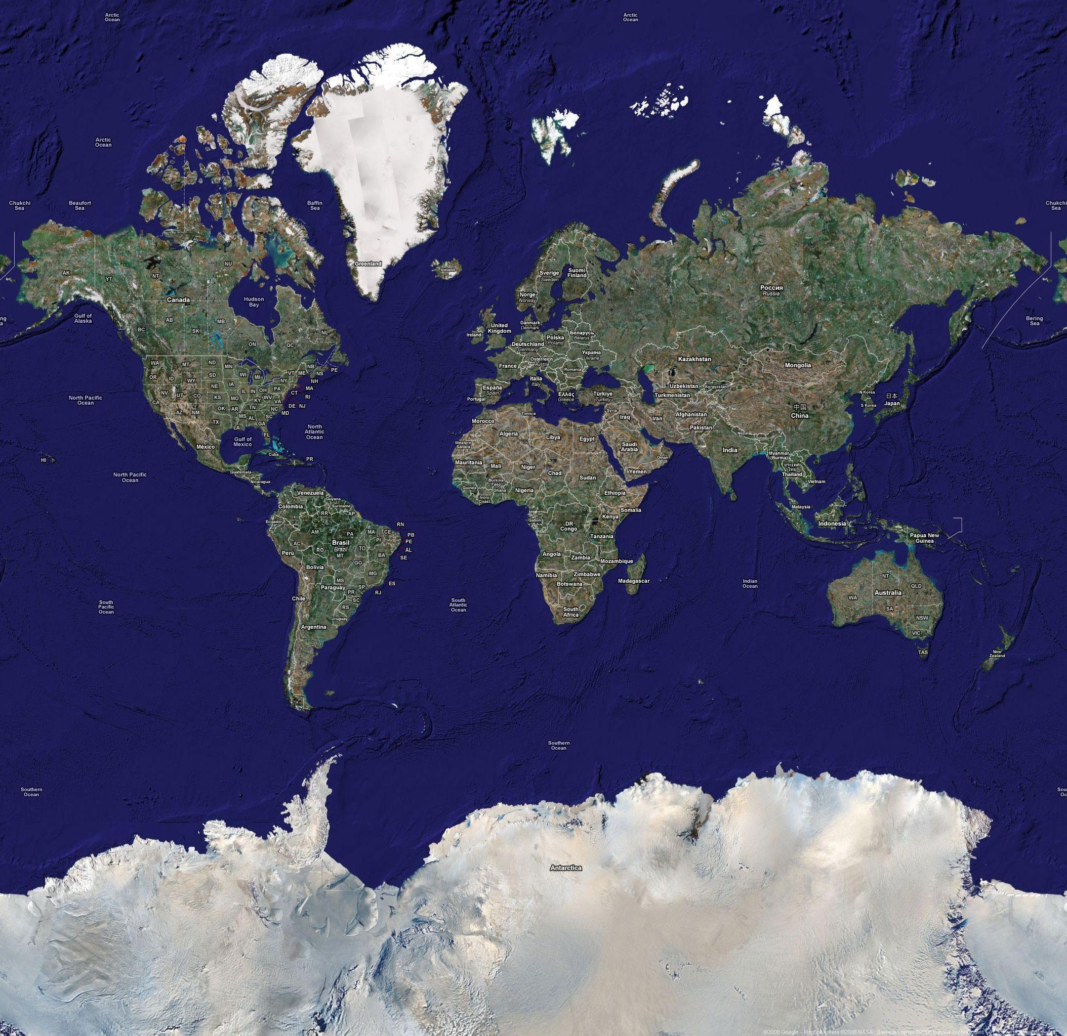спутниковая карта земли в реальном времени онлайн